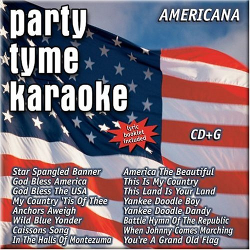 Party Tyme Karaoke Americana Karaoke Incl. Cdg 16 Song