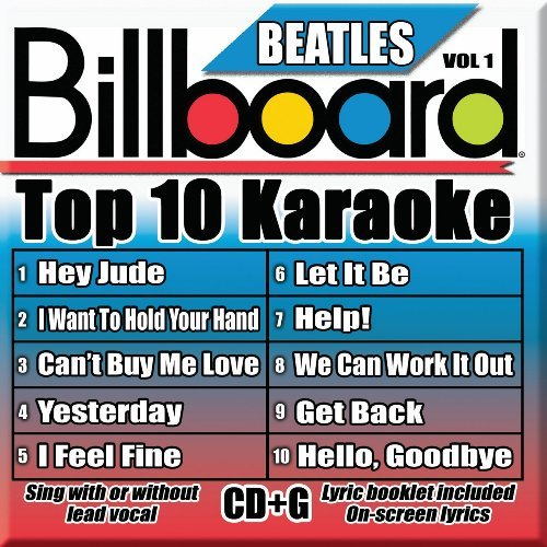 Billboard Top 10 Karaoke Vol. 1 Billboard Beatles Top 1 Karaoke Incl. Cdg 10+10 Song