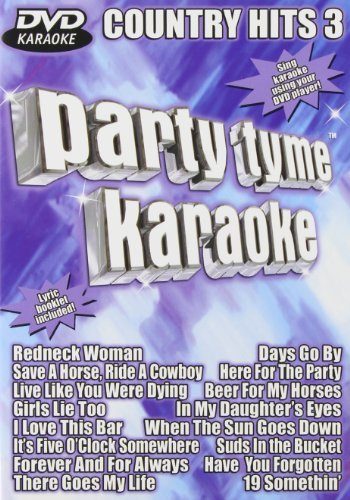 Party Tyme Karaoke Vol. 3 Country Hits Karaoke Incl. Cdg