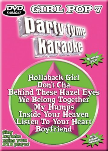 Party Tyme Karaoke Vol. 7 Girl Pop Karaoke Incl. Cdg