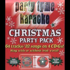 Party Tyme Karaoke Christmas Party Pack Karaoke Incl Cdg 4 CD 32+32 Song