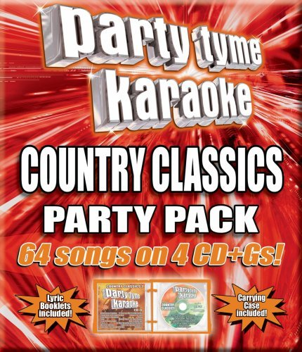 Party Tyme Karaoke Country Classics Party Pack Karaoke Incl. Cdg 4 CD 64 Song