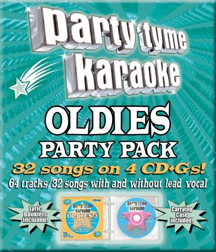 Party Tyme Karaoke Oldies Party Pack Karaoke Incl Cdg 4 CD 32+32 Song