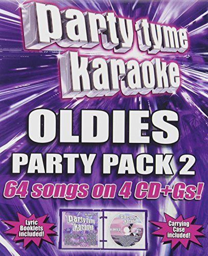 Party Tyme Karaoke Vol. 2 Oldies Party Pack Karaoke Incl Cdg 4 CD 64 Song