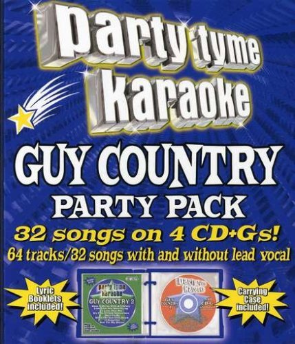 Party Tyme Karaoke Guy Country Party Pack Karaoke Incl Cdg 4 CD 32+32 Song