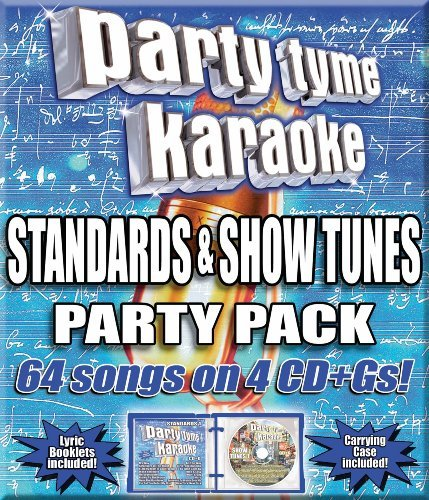 Party Tyme Karaoke Standards & Show Tunes Party P Karaoke Incl Cdg 4 CD 64 Song