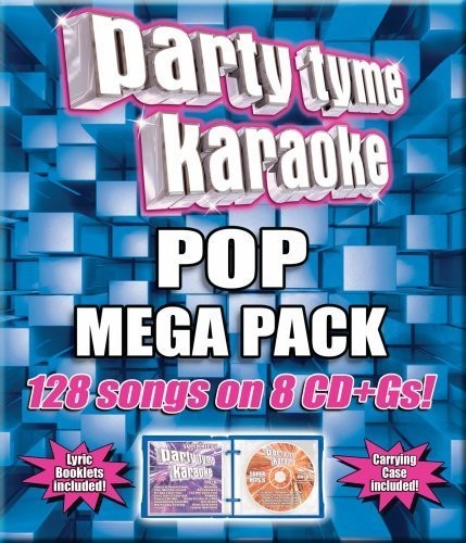 Party Tyme Karaoke Pop Mega Pack Karaoke Incl. Cdg 8 CD 128 Song