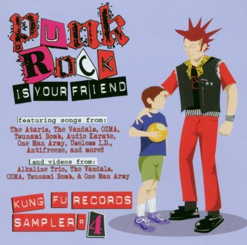 Punk Rock Is Your Friend Vol. 4 Punk Rock Is Your Frien Enhanced CD Punk Rock Is Your Friend