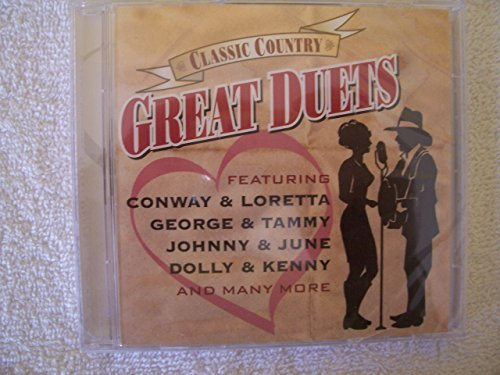 Various Artists Classic Country Great Duets 2 CD Set