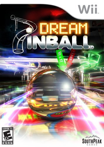 Wii Dream Pinball 3d South Peak Interactive Rp
