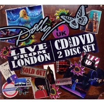 Dolly Parton Live From London Incl. DVD Digipak