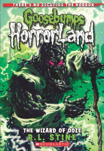 R. L. Stine The Wizard Of Ooze (goosebumps Horrorland #17)