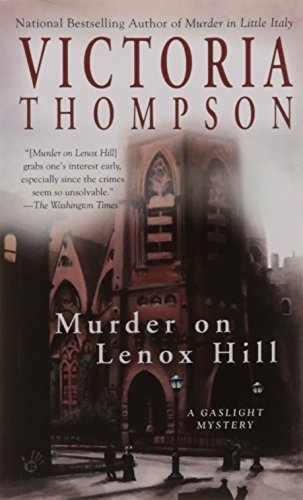 Victoria Thompson Murder On Lenox Hill