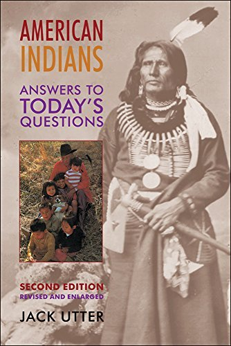 Jack Utter American Indians Answers To Today's Questions 0002 Edition;