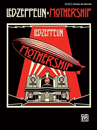 Led Zeppelin Led Zeppelin Mothership Authentic Guitar Tab
