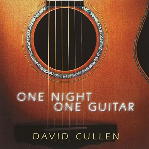 David Cullen One Night One Guitar