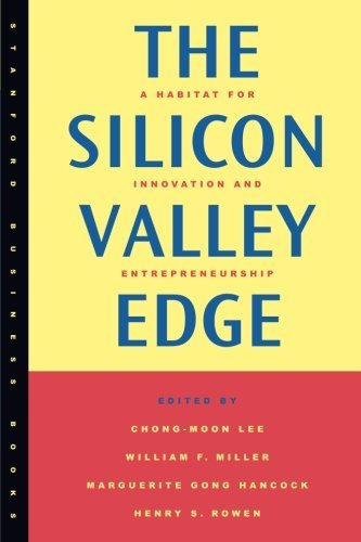 Chong Moon Lee The Silicon Valley Edge A Habitat For Innovation And Entrepreneurship