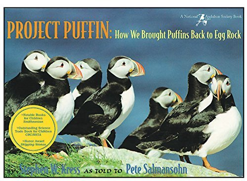 Pete Salmansohn Project Puffin How We Brought Puffins Back To Egg Rock