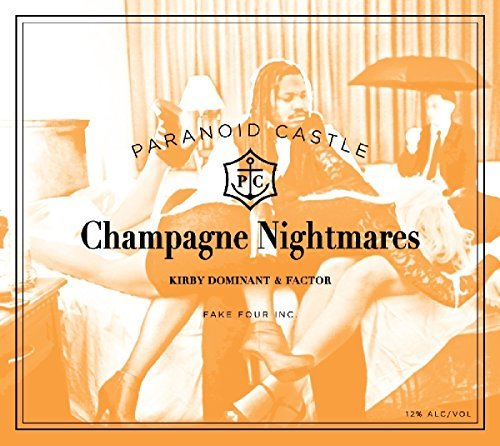 Paranoid Castle Champagne Nightmares Digipak