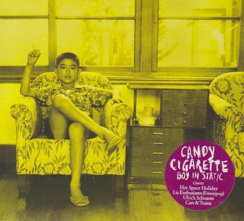 Boy In Static Candy Cigarette
