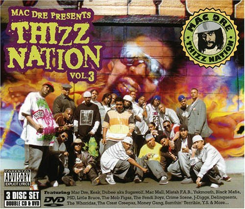 Mac Dre Presents Vol. 3 Thizz Nation Explicit Version 2 CD Incl. DVD