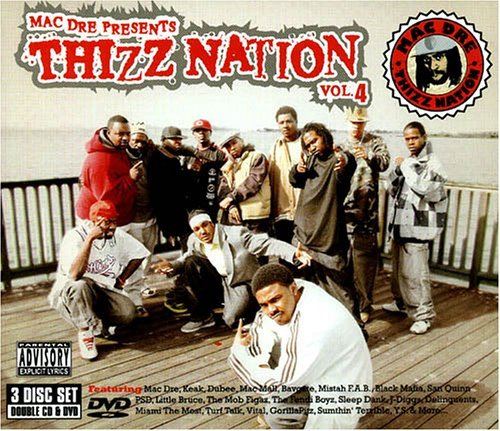 Mac Dre Presents Vol. 4 Thizz Nation Explicit Version 2 CD Incl. DVD