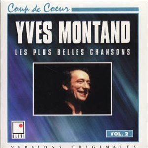 Yves Montand Les Plus Belles Chansons Import Can