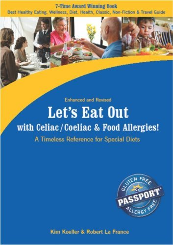 Kim Koeller Let's Eat Out With Celiac Coeliac & Food Allergies A Timeless Reference For Special Diets Enhanced Revis