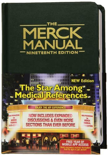 Robert S. Porter The Merck Manual Of Diagnosis And Therapy 0019 Edition;green