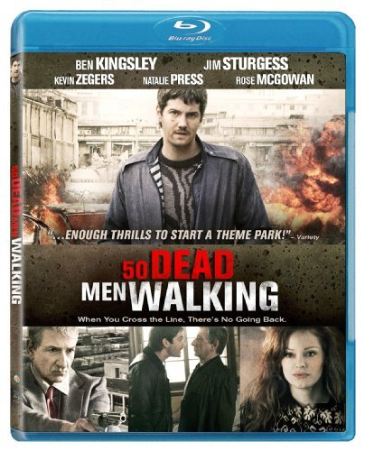 50 Dead Men Walking Kingsley Sturgess Zegers Blu Ray Ws R