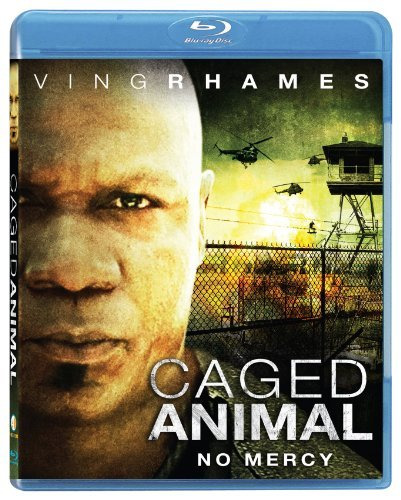 Caged Animal Rhames Patrick Lasarbo Blu Ray Ws Nr