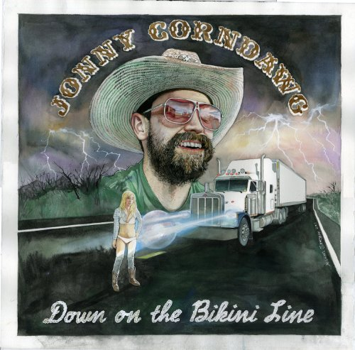 Jonny Corndawg Down On The Bikini Line Digipak