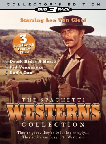 Kid Vengeance Death Rides A Ho Spaghetti Westerns Collection Clr Digipak Nr 3 DVD