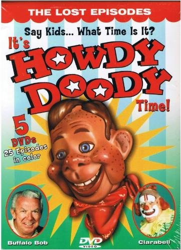 Its Howdy Doody Time Lost Episodes Clr G 5 DVD
