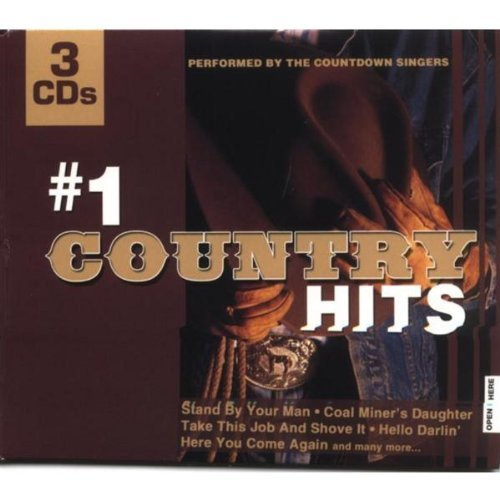 Countdown Singers #1 Country Hits 3 CD Set