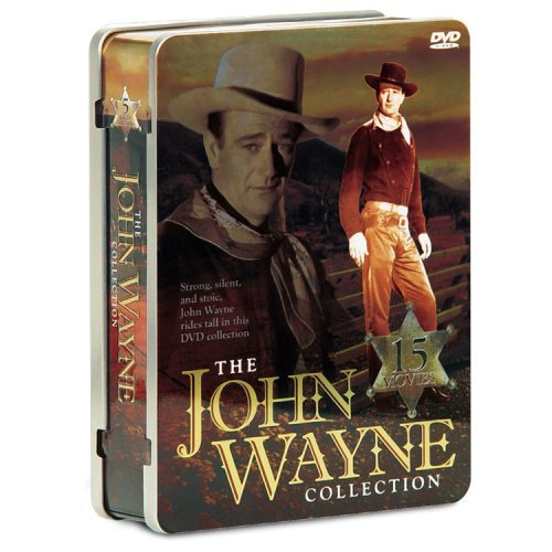 Collector's Tin John Wayne Collection Bw Tin Can Nr 15 On 5 Limtd Ed.