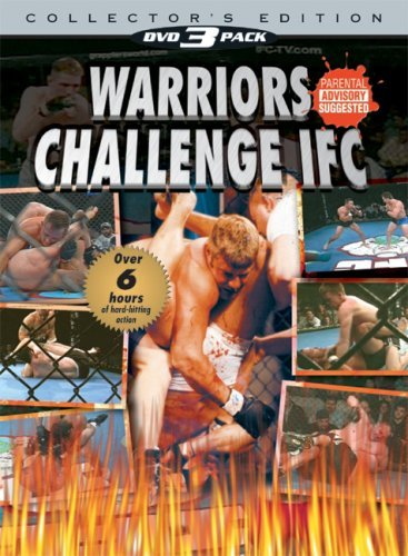 Warriors Challenge Ifc 3pak Warriors Challenge Ifc Clr Nr 3 DVD