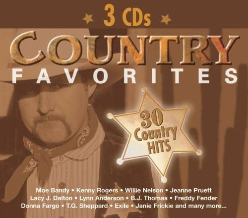 Country Favorites Country Favorites Dalton Anderson Thomas Fender 3 CD Set Digipak