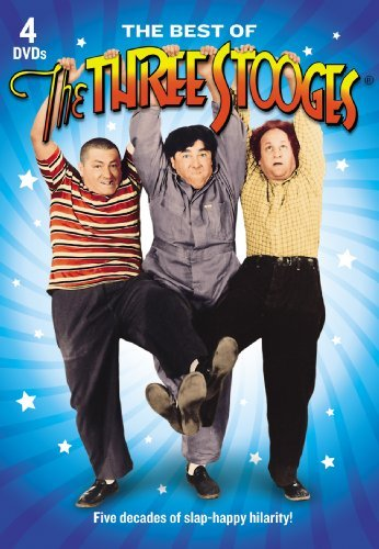Best Of The Three Stooges Three Stooges Clr Bw Nr 4 DVD
