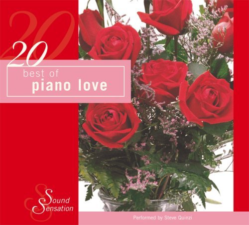 Steve Quinzi 20 Best Of Piano Love Digipak
