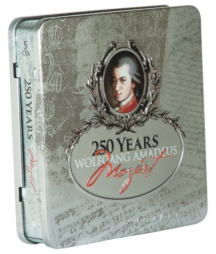 W.A. Mozart 250 Years Music Forever 3 CD Set Tin Can Collection