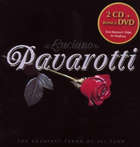 Luciano Pavarotti Music Forever 3 CD Set Tin Can Collection
