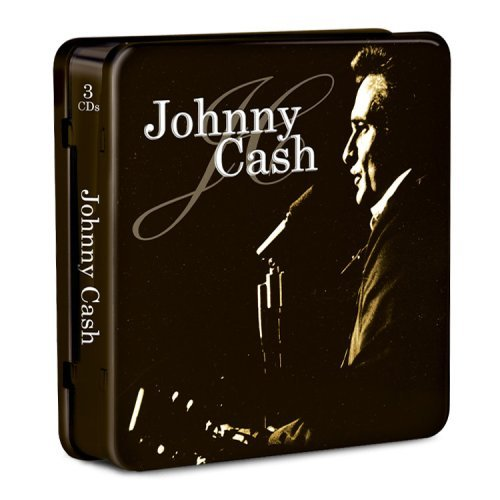 Johnny Cash Music Forever 3 CD Set Tin Can Collection