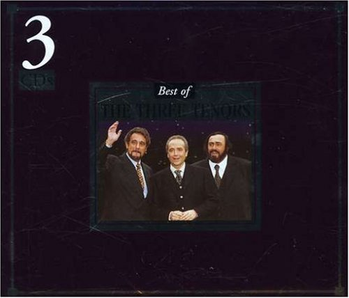 Pavarotti Domingo Carreras Best Of Three Tenors 3 CD Set Folio