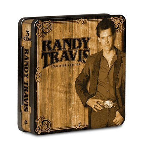 Randy Travis Collector's Ed. Tin 3 CD Set