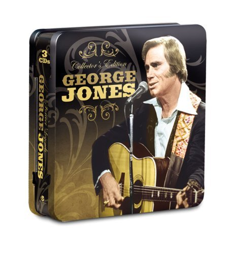 George Jones Collector's Ed. Tin 3 CD Set