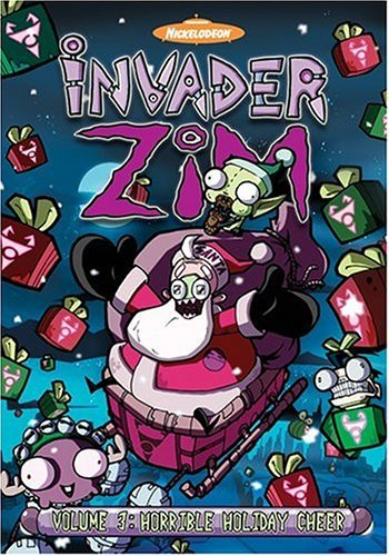 Invader Zim Vol. 3 Horrible Holiday Cheer Clr Jpn Lng Eng Dub Sub Nr 2 DVD