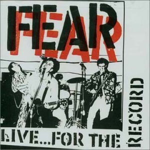 Fear Live For The Record