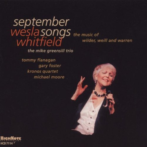 Weslia Whitfield September Songs Music Of Wild