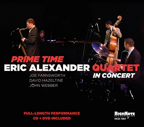 Eric Quartet Alexander Prime Time In Concert Incl. DVD